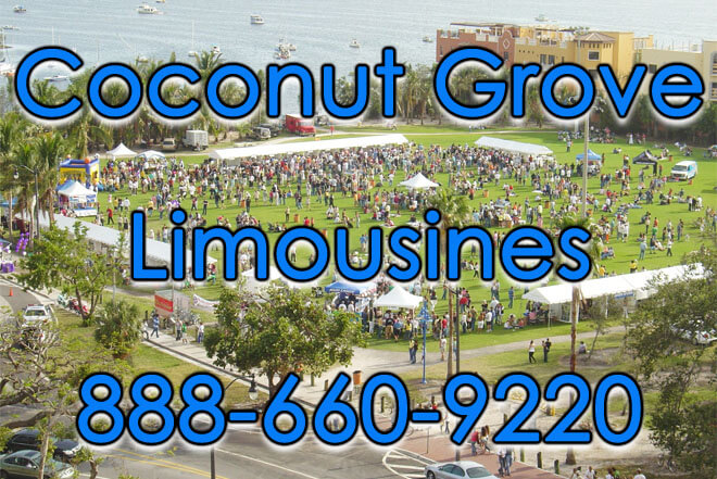 Limousine Service in Coconut Grove