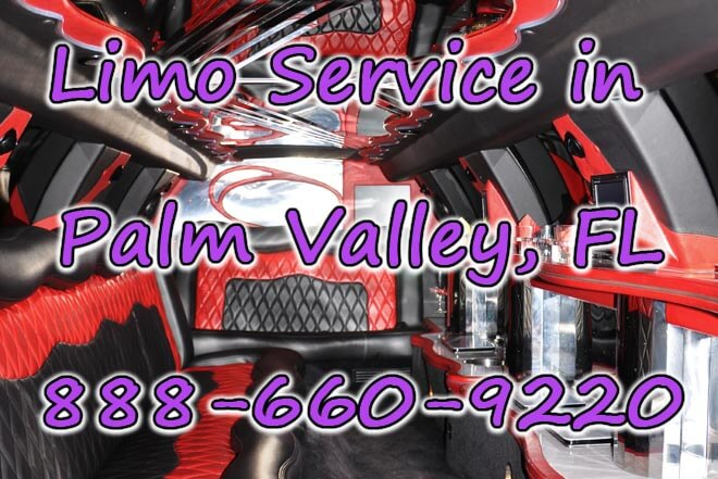 Limousine Service in Palm Valley