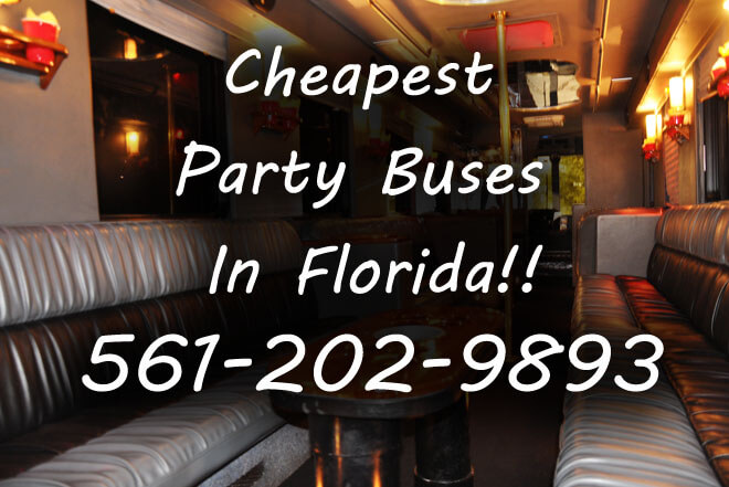 Miami Airport to Orlando Party Buses