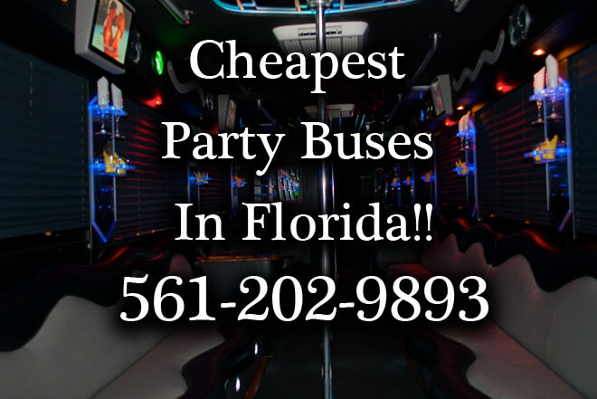 Miami Gardens Party Buses