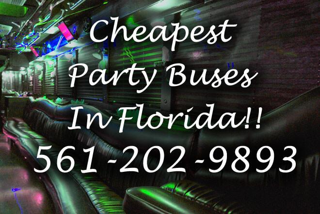 Miami Lakes Party Buses