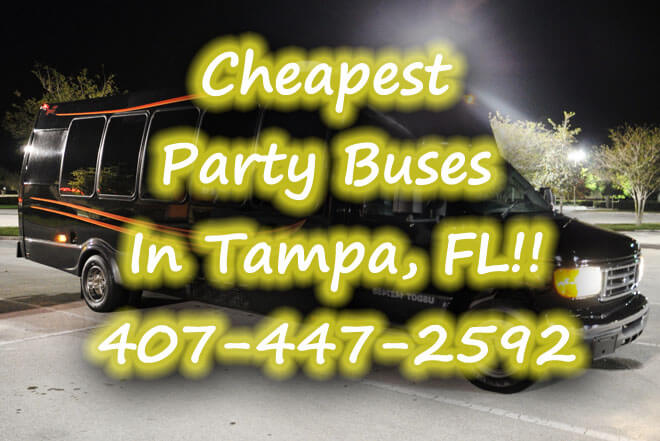 New Port Richey Party Buses