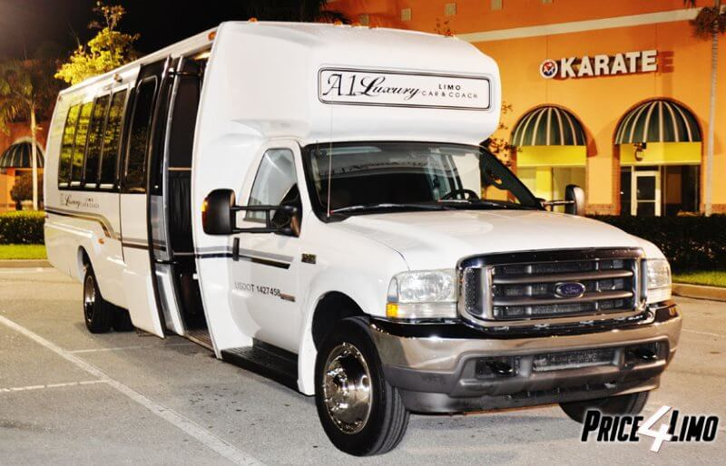 North Palm Beach Party Bus Rental