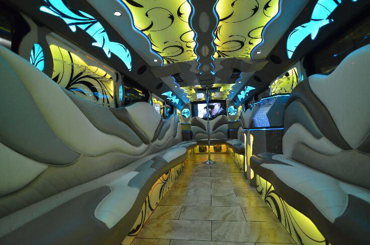 Oak Ridge Party Bus Rental