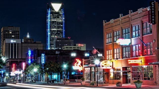 downtown OKC