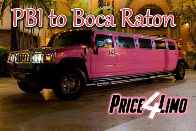 Palm Beach to Boca Raton