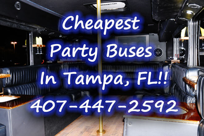 Palm Harbor Party Buses