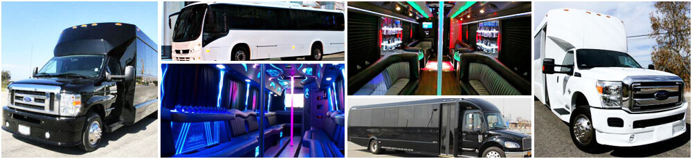 Holiday Party Buses and Limos