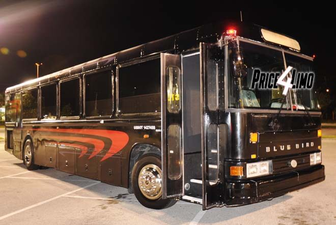 Party Bus in Jacksonville Beach