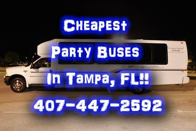 Party Bus in Ybor City