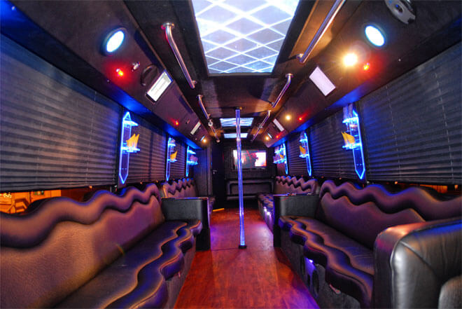 Party Bus Rental in Bloomingdale