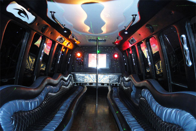 Party Bus Rental in Davenport
