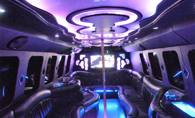 Party Bus Rental in Englewood