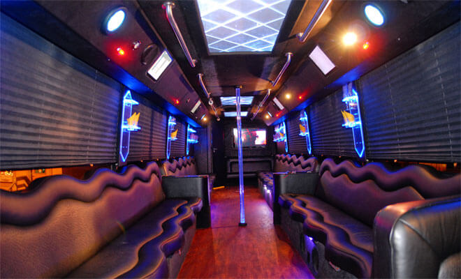 Party Bus Service In Hunters Creek