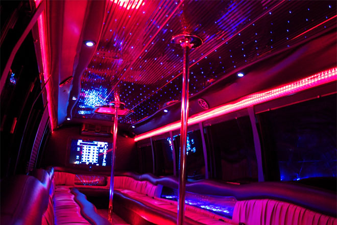 Party Bus in Buenaventura Lakes