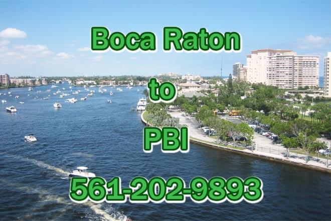 PBI to Boca Raton