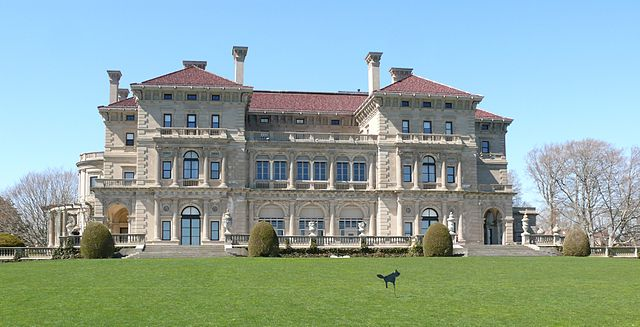 The Breakers Mansion in Newport RI