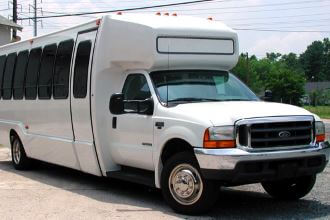 28 Passenger Shuttle Bus in North Carolina