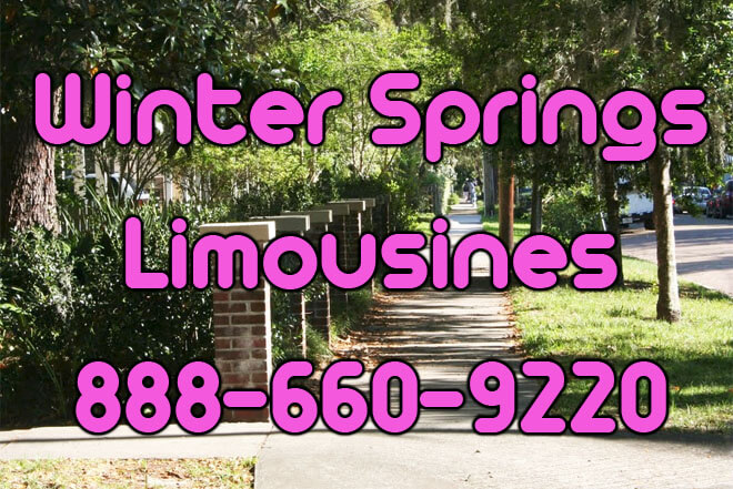 Winter Springs Limousine Service
