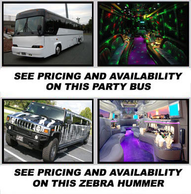 Worcester party bus