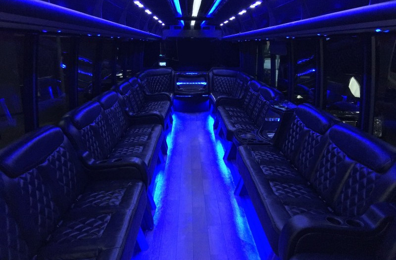 how many passengers fit it in a party bus?