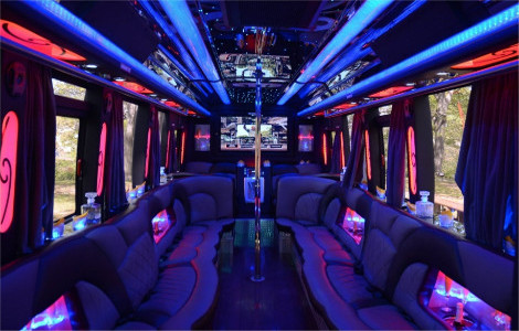 Limo Bus Troy