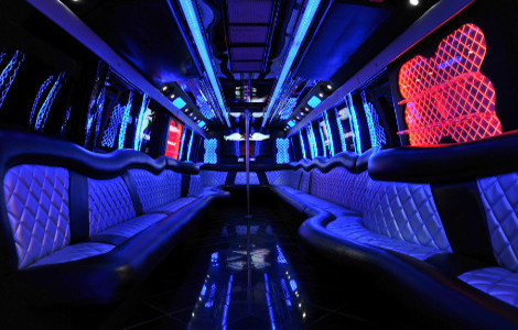 Limousine Bus Rental Lake Station IN