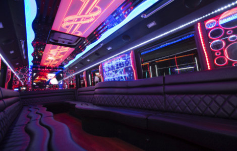 Party Bus Service Holly Springs North Carolina