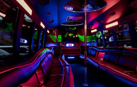 Party Bus Rental Holly Springs NC