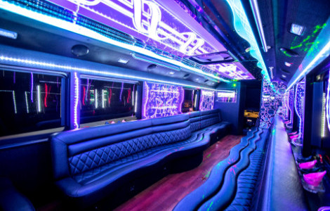 Party Buses Dunkirk WI