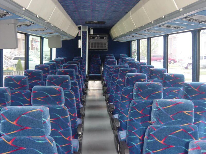 Party Bus Rental Nogales, AZ 57 Passenger Motor Coach Charter Bus