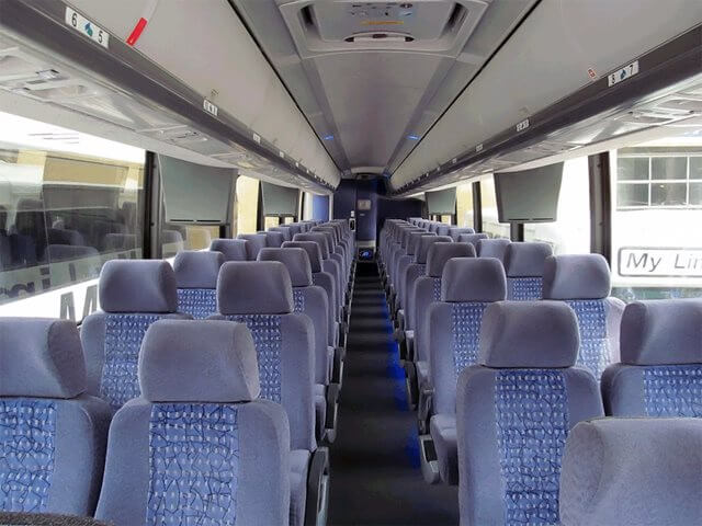 Party Bus Rental San Luis, AZ 55 Passenger Motor Coach