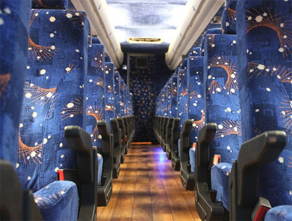Party Bus Rental San Luis, AZ 50 Passenger Charter Bus Rental