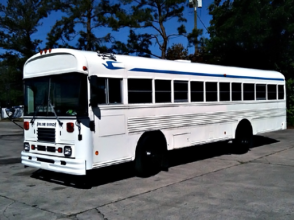 Limo Service Queen Creek, AZ 40 Passenger School Bus