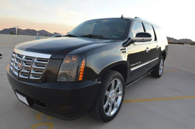 Party Bus Rental Apache Junction, AZ 6 Passenger Black Cadillac Escalade