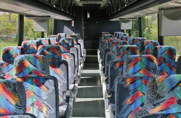Charter Bus Phoenix, AZ International White 35 Passenger #12940
