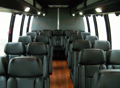 Party Bus Rental Tucson, AZ Ford 550 White 31 Passenger #14412