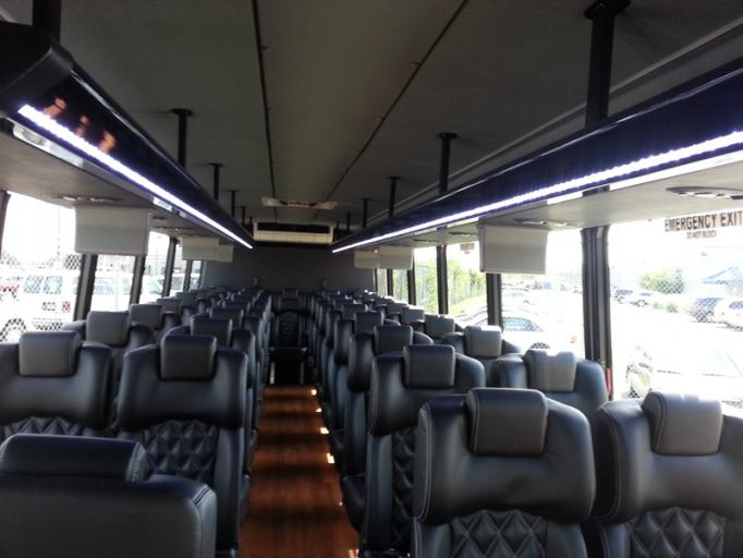 Party Bus Rental Glendale, AZ International White 35 Passenger #14842
