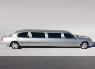 Charter Bus Lake Havasu City, AZ Lincoln Stretch Silver 8 Passenger #15416
