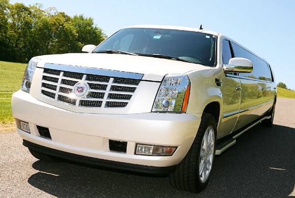 Party Bus Rental New Kingman-Butler, AZ 14 Passenger White Escalade Limo