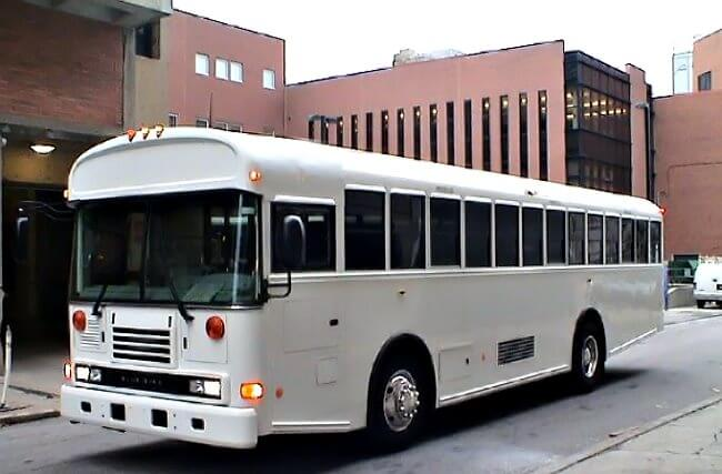 Limo Service Queen Creek, AZ 30 Passenger School Bus Rental