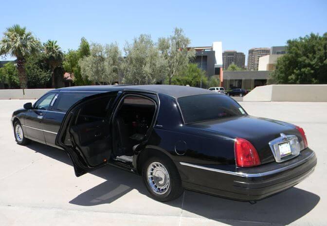 Party Bus Rental Mesa, AZ 8   Passenger Lincoln Stretch