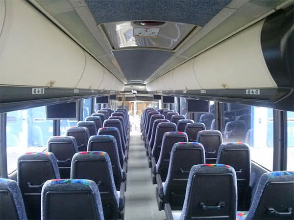 Party Bus Rental Tempe, AZ 47 Passenger Charter  Bus