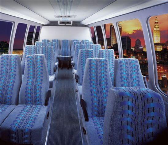 Party Bus Rental Buckeye, AZ 28 Passenger Mini Coach Bus Rental