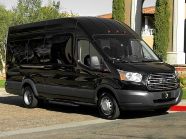 Party Bus Rental Tucson, AZ Ford Transit 14 Passenger #8000