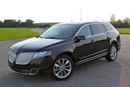 Party Bus Rental Tucson, AZ Lincoln MKT Black 4 Passenger #8115