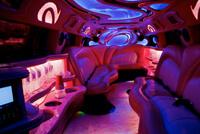 300 limo rental interior