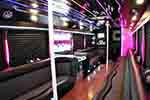 20 Passenger Party bus interior